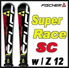 11 12 Fischer RC4 Super Race SC Skis 160cm w/Z 12 NEW