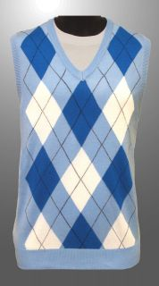 argyle sweater vest in Mens Clothing