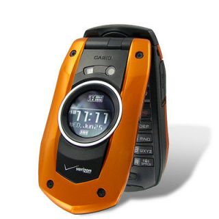NEW Casio GzOne Boulder C711 Water Proof GPS Camera Cell Phone VERIZON
