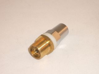 24 to SO 239 SM1 Brass Antenna Stud Mount Adapter