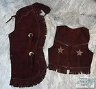 SONS ANARCHY LEATHER VEST HALLOWEEN COSTUME