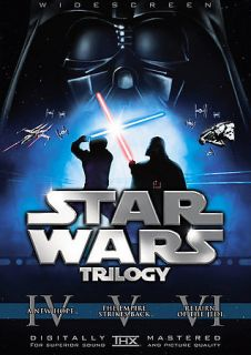 Star Wars Trilogy (DVD, 2008, 6 Disc Set, Checkpoint; Sensormatic