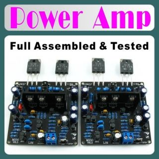 Assembled Stereo MX50 Power Amplifier Board SK2837 SK1186 Best For Amp