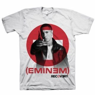 EMINEM RECOVERY FINGER POINT OFFICIAL BRAND NEW T SHIRT LARGE