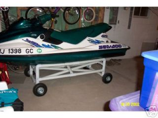 pwc wave runner jetski seadoo stand cart dock plans $
