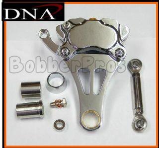 Springer Front End CHROME RIGHT SIDE DNA BRAKE CALIPER KIT Forks