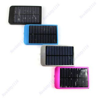 Solar Power Charger For PDA Cell Phone SE  MP4 + 5 Adapter + USB