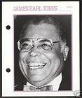 james earl jones film movie star picture biography card buy