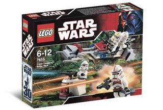 lego star wars clone trooper battle pack set 7655 new