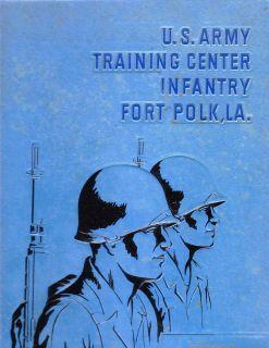 Polk Company G, 2d Bn.1st Bde, April, 1964 U. S. Army Training Center