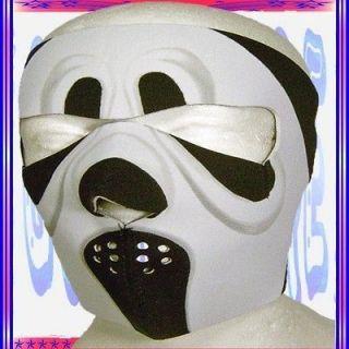 New Reversible Neoprene Full Face Mask Ski Snow Mobile Black White