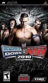 newly listed wwe smackdown vs raw 2010 psp 2009 time