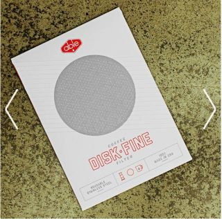Able Fine Stainless Steel Disc Filter for Aeropress coffee maker
