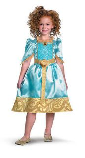 Classic Disneys Brave Child Costume Small (4 6X)   Ships Worldwide