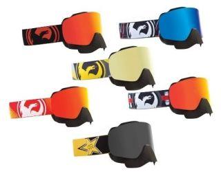 dragon nfx snowmobile goggles snow winter w nose guard more