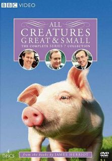 All Creatures Great Small The Complete Series 7 DVD, 2007, 4 Disc Set