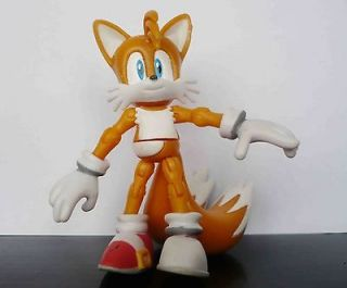 Sonic The Hedgehog TAILS Mini action Figures Set 8cm tall ,rare  #