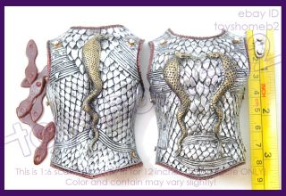scale CMTOYS H006 God of War Roman Gladiator BODY ARMOR (plastic)