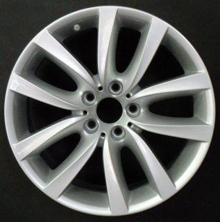 11 BMW 528i 535i 550i 19 5 Double Spoke Front OEM Factory Wheel Rim H
