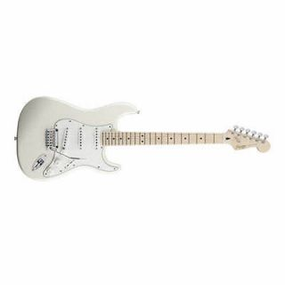Fender Squier Deluxe Stratocaster Maple Fingerboard Pearl White