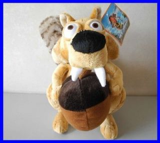 squirrels scrat Ice Age 4 Continental Drift 26cm Tall Plush Animal
