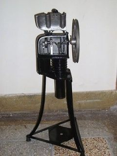 FULLY ASSEMBLED BIG STIRLING ENGINE RUNS ON ANY HEAT SOURCE + FLY