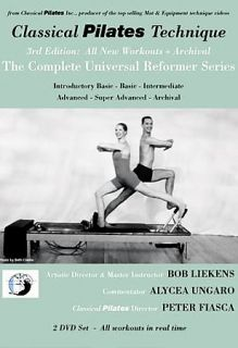 Classical Pilates Technique The Complete Universal Reformer Series