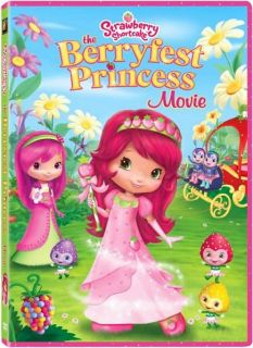 Strawberry Shortcake The Berryfest Princess Movie DVD, 2010