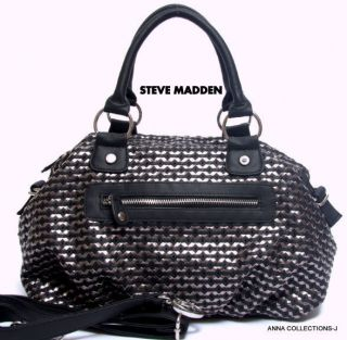 steve madden black satchel in Handbags & Purses