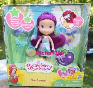 new strawberry shortcake plum pudding fashion doll