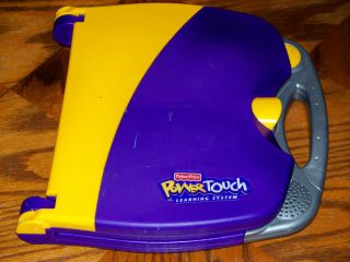FISHER PRICE POWER TOUCH LEARNING SYSTEM WORKING CONDITION NO BOOKS