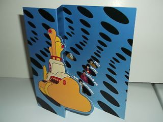 the beatles yellow submarine birthday card  5