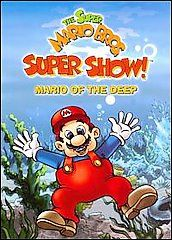 Super Mario Bros. Super Show   Mario of the Deep DVD, 2008