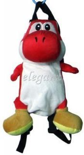 nintendo super mario red yoshi plush 13 backpack bag from