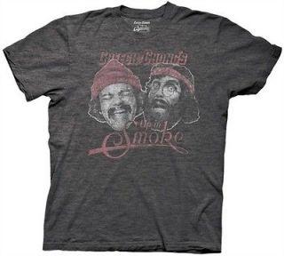 Cheech And Chong Up In Smoke Faces Funny Adult Medium T Shirt