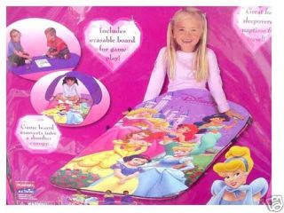 playhut disney princess slumber bag and canopy