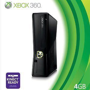 newly listed 4gb microsoft xbox 360 slim video game system