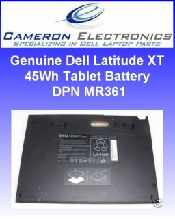genuine dell latitude xt 45wh tablet battery mr361 time left