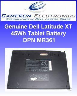 genuine dell latitude xt 45wh tablet battery mr361 time left