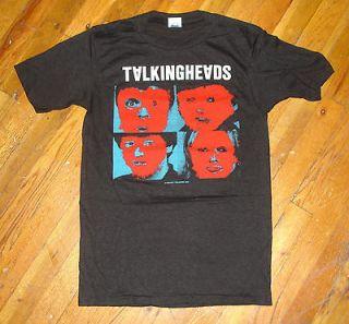RaRe *1982 TALKING HEADS* vintage punk rock concert tour t shirt (M