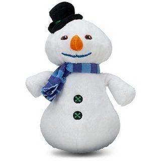 AUTHENTIC DOC McSTUFFINS MINI BEAN PLUSH CHILLY SNOWMAN 8