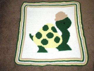 turtle baby afghan crochet pattern time left $ 2 99