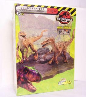 VELOCIRAPTORS Dinosaurs JURASSIC PARK The LOST WORLD Movie Model Kit