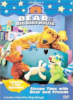 Bear in the Big Blue House   Sleepy Time with Bear and Friends DVD