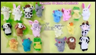Animal Family Story fairy tale Finger Puppets Toy Teach PARTY FAVOR