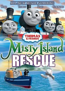 Thomas Friends Misty Island Rescue DVD, 2010