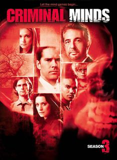 Criminal Minds   The Complete Third Season DVD, 2008, 5 Disc Set