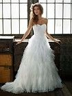 nwt david s bridal galina dot tulle wedding dress quick