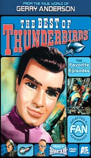 The Best of Thunderbirds (DVD, 2004, 2 D