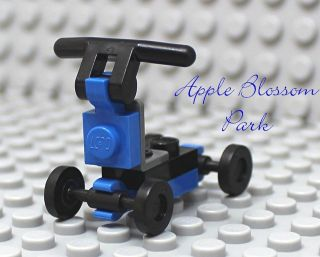 /Town BLUE & BLACK SCOOTER  Toy for Boy/Girl Minifig from set 10185